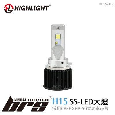【brs光研社】HL-SS-H15 HIGHLIGHT SS LED 大燈 TIGUAN FORD 福特 MAZDA 3