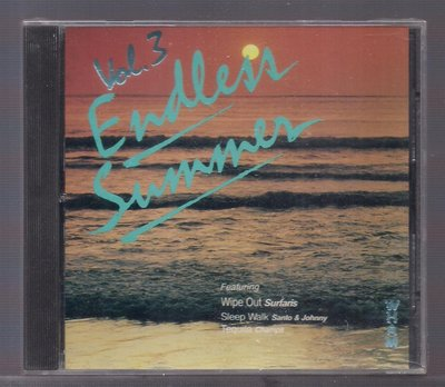 ENDLESS SUMMER -Volume III [ wIPE oUT ] 西洋合輯CD未拆封