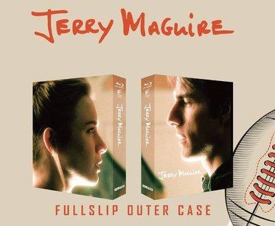 毛毛小舖--藍光BD 征服情海 Jerry Maguire 獨家限量全紙盒版(中文字幕) 湯姆克魯斯