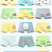 兒童內褲男孩男童平角3-4-5-6-8歲棉質小童小孩男寶寶四角短褲頭