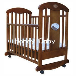 [ 家事達 ] Mother's love 星空搖擺嬰兒床+ 七件式純棉被組M 特價