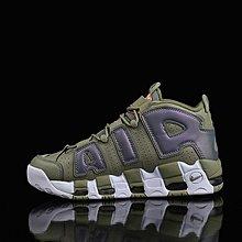 D-BOX NIKE WMNS AIR UPTEMPO 軍綠色 變色 反光 高幫 運動鞋 個性籃球鞋