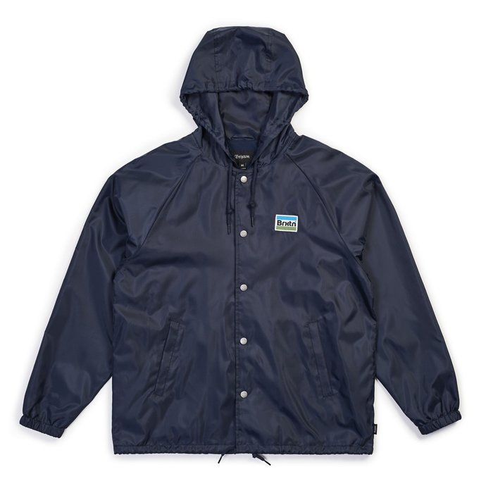[JIMI 2] Brixton - Nobel Hood JKT 連帽教練外套 風衣外套 休閒Outdoor