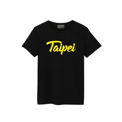 T365 TAIWAN 台灣 臺灣 愛台灣 Taipei 草寫 國家 黃色 圖案 T恤 男女皆可穿 多色同款可選 短T