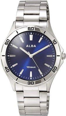 日本正版 SEIKO 精工 ALBA AQPK411 男錶 手錶 日本代購