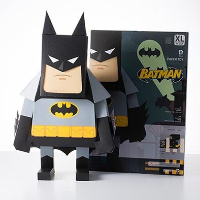 全新 摺紙 蝙蝠俠 Batman 11吋 DIY 紙模型 DC Comics MOMOT Paper Craft Toy