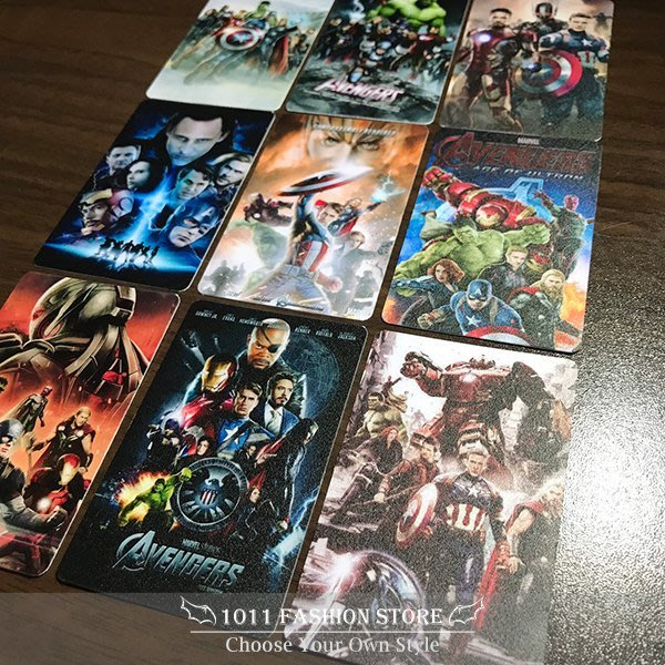 MARVEL 復仇者聯盟 鋼鐵人 美國隊長 雷神 浩克 黑寡婦 icash2.0 悠遊卡 電影海報款 限量卡貼