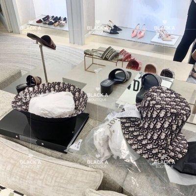 【BLACK A】精品Dior Teddy-D Oblique 雙面漁夫帽 海軍藍 🉐️防疫特價
