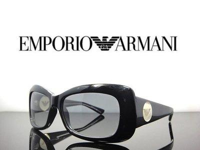 《黑伯爵眼鏡精品》 ARMANI 名人時尚 復古雷朋 神秘黑色 大鏡面 老鷹logo 太陽眼鏡 原廠公司貨 台南市