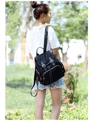 2017韓國連線 新款高質感尼龍後背包 後背包 背包 媽媽包 防水 防水後背包 尼龍後背包 束口包 束口後背包