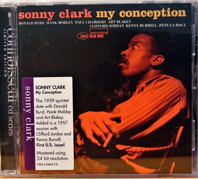 Sonny Clark - My Conception 二手歐版