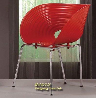 【設計私生活】伊芙造型吧椅、餐椅-紅(全館一律免運費)111R