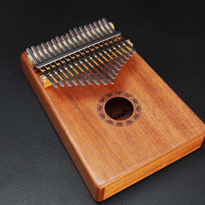 【六絃樂器】全新全單板桃花心木 GS-17 卡林巴琴 拇指琴 / 現貨特價