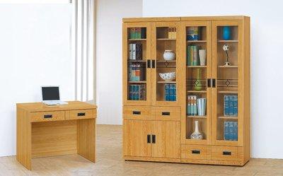 【南洋風休閒傢俱】書架 書櫃 書櫥 展示櫃 收納櫃 造形櫃 置物櫃系列-檜木色2.7尺中抽書櫃 CY407-335