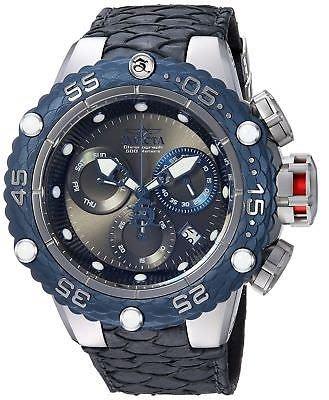 《大男人》Invicta Subaqua#5068瑞士大錶徑50MM潛水錶,特殊錶冠設計,龍鱗皮帶非常漂亮值得收藏