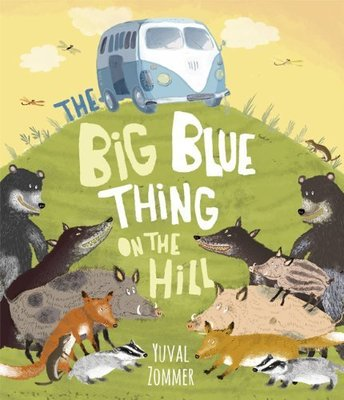 *小P書樂園* The Big Blue Thing on the Hill