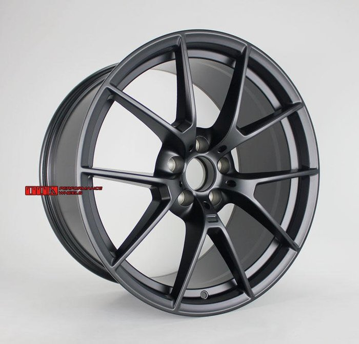 【美麗輪胎舘】類BMW原廠M-POWER 19吋 5孔120 前後配鋁圈 8.5J / 9.5J 平光黑