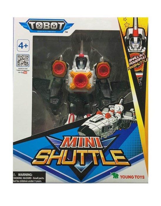 佳佳玩具 ---- 正版授權 MINI TOBOT 迷你 機器戰士 SHUTTLE  變型機器人【053092556】