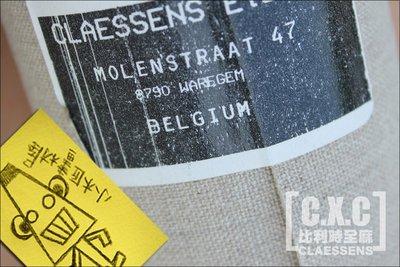 【小木匠畫材屋】比利時全麻油畫布。CLAESSENS。細目全麻12。中目全麻V7。30F雙片裝 (單片1550元)