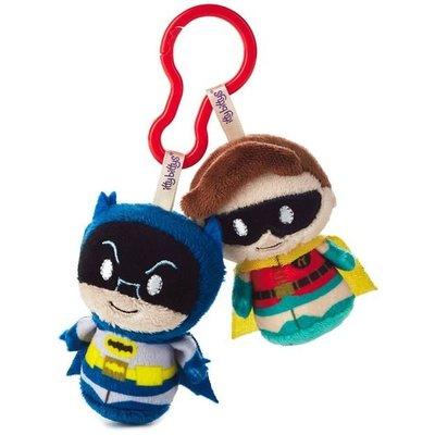 預購 美國 Hallmark BATMAN and Robin Q版羅賓+蝙蝠俠 包包掛飾 娃娃 吊飾 療癒小物