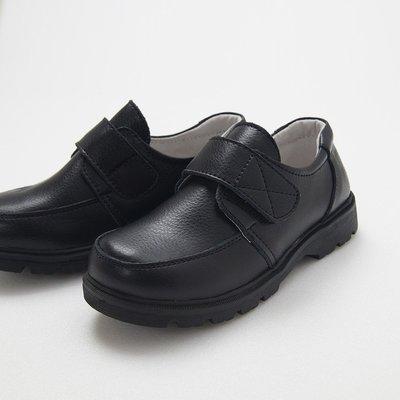 米米世界【全館現貨】HBS6180兒童西裝黑色真皮皮鞋/男女童皮鞋白色皮鞋男童禮服皮鞋/男女花童禮服鞋26-31號尺碼