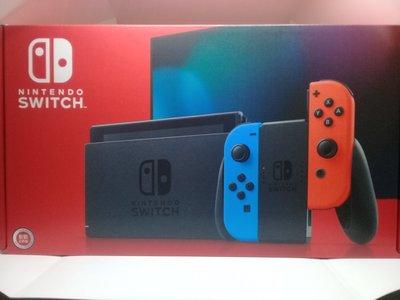 郵寄會包裝好 全新 Nintendo switch 主機 +動物森友會(遊戲可換)  送保護貼/ 台灣閃耀 台中遊戲店