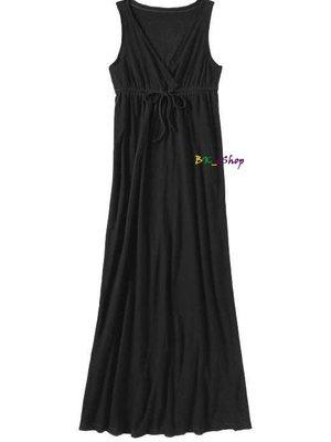 【美衣大鋪】☆ OLD NAVY 正品☆Surplice Drawstring Maxi Dresses 長洋裝