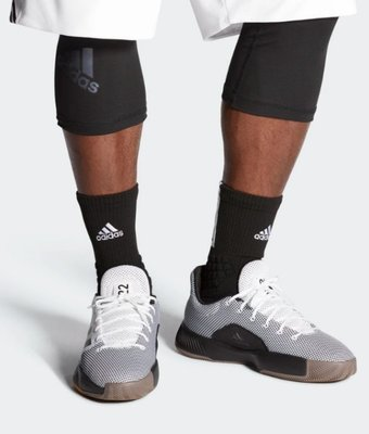 》P.S 》ADIDAS PRO BOUNCE MADNESS 白黑 運動 籃球 男鞋 BB9222