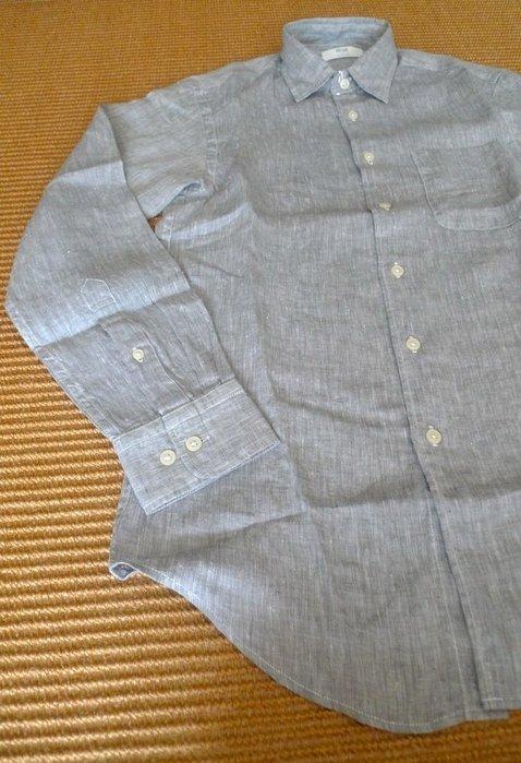 UNIQLO  2019 夏日逸品 : 100%特級亞麻長袖襯衫  * / * 只要 798元  ! !