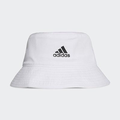 [麥修斯]ADIDAS COTTON BUCKET 愛迪達 漁夫帽 帽子 遮陽帽 經典款 男女款 情侶款 H36811