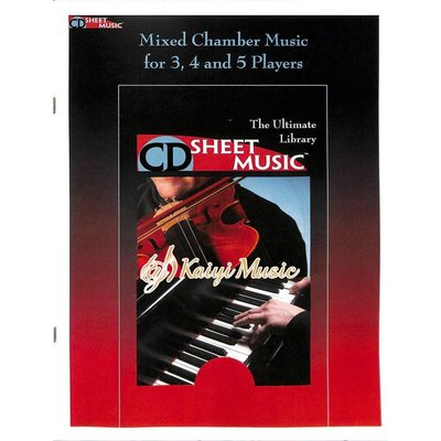 Kaiyi Music ♫Kaiyi Music♫Sheet music Mixed chamber music for3,4 and 5