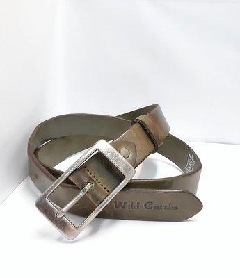 新掀貨牛仔服飾-W179-Wid Gattle真皮皮帶(100%義大利純牛皮)