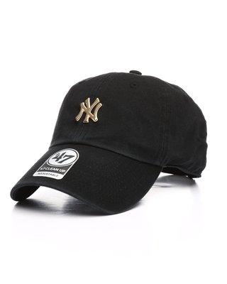 【血拼妞】47 BRAND NEW YORK YANKEES 紐約洋基 hardwear 小LOGO 棒球帽  老帽 黑