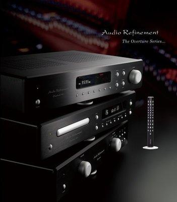 "《 南港-傑威爾音響 》Audio Refinement ""Overture"" 綜合擴大機(銀/黑)"