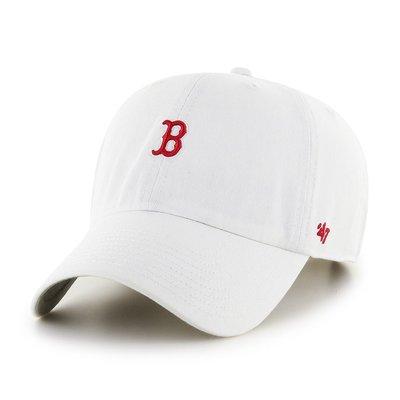 【免運】47 BRAND BOSTON RED SOX ABATE 小 LOGO  紅襪 棒球帽 白色《現貨》