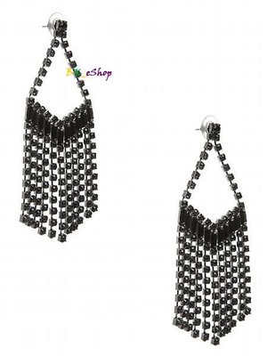【美衣大鋪】☆ GUESS 正品☆ Fringe Stone Chandelier Earrings 耳環