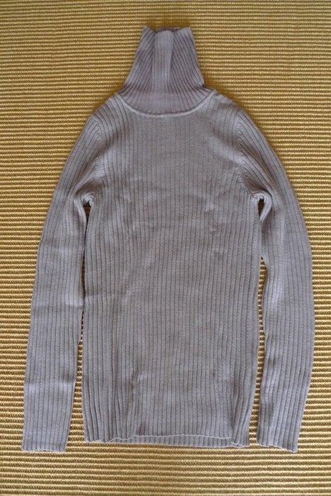 MUJI 日本原裝版:羊毛寬螺紋高領針織衫 * / * 只要 598 元 !!