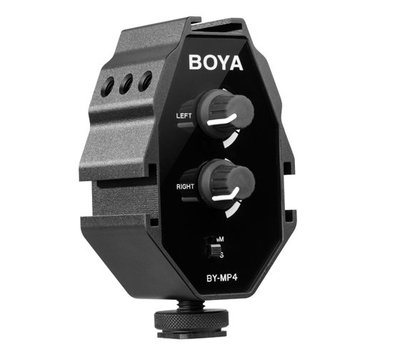BOYA BY-MP4 混音器