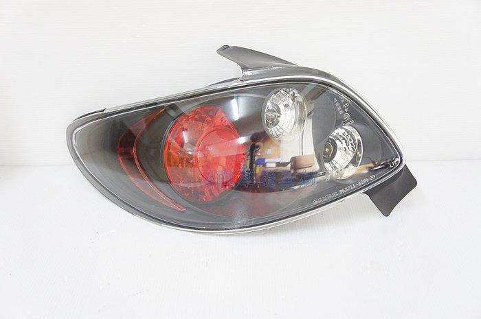 ~~ADT.車燈.車材~~PEUGEOT 寶獅 206 3D 5D 1999~2008 紅心圓黑底尾燈含線組