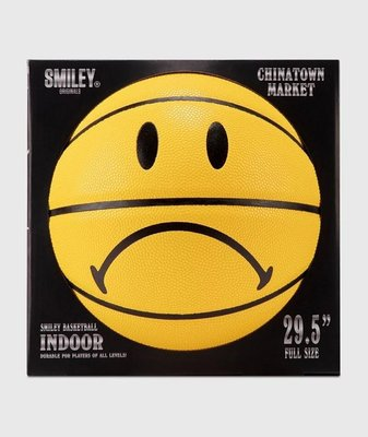 CHINATOWN MARKET SMILEY FROWN BASKETBALL 籃球代購