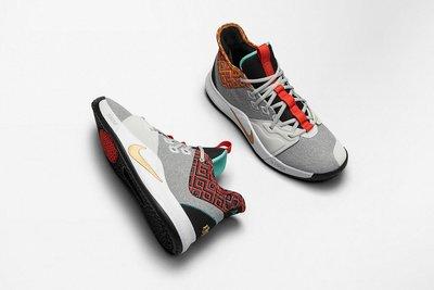 J SNEAKERS球鞋代購/男段/NIKE PG3 BLACK HISTORY MONTH 籃球 運動鞋