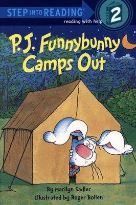 *小貝比的家*P.J. FUNNYBUNNY CAMPS OUT /L2/平裝/3~6歲/復活節