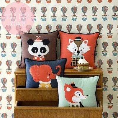 Sis 歐美 北歐 可愛童趣插畫風格靠枕 多款抱枕 沙發 客廳 兒童房 家飾品 zara home ikea h&m