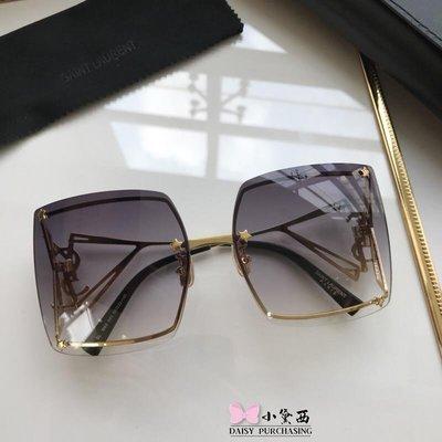 【小黛西歐美代購】YSL yves saint laurent 時尚飛行 歐洲限量 太陽眼鏡 墨鏡顏色5  歐洲代購