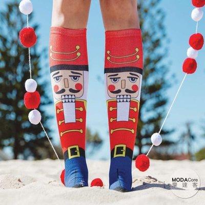 【摩達客】美國進口Living Royal胡桃鉗 高筒襪及膝襪(YLR60117001)