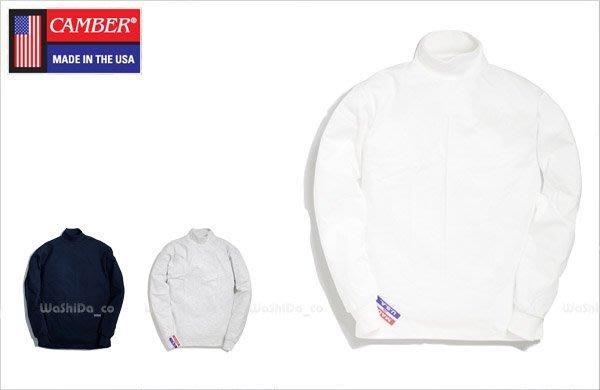 WaShiDa【306】12-22 CAMBER MOCK NECK 美國製 冬季 純棉 素面 高領 衛衣 現貨