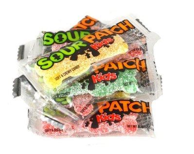 【山姆柑仔店】一組(25小包) SOUR PATCH Kids/軟軟糖/提神軟軟糖/醒腦軟軟糖/開車超酸軟軟糖