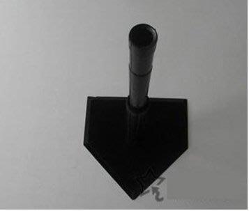 【打擊練習器-一孔-橡膠-底盤42*4...
