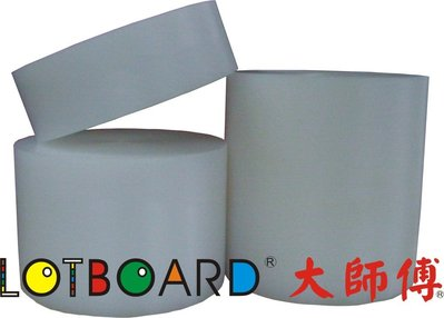 LOTBOARD大師傅-營業用超厚圓形塑膠砧板(一體實心)