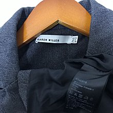 Karen Millen jacket 灰色 西裝褸 好剪裁 短款外套